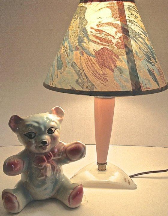 pink lamp