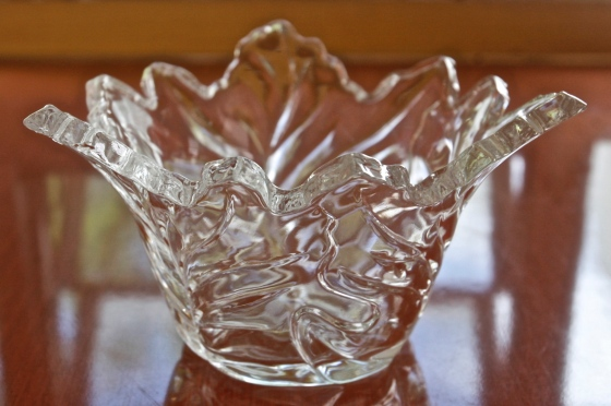 crystal cand dish - 1